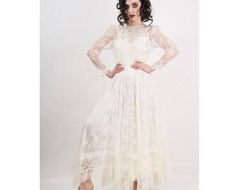 1980s wedding dress   Etsy