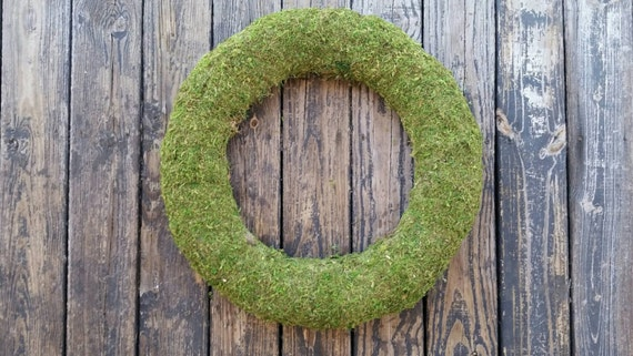 Wreath, Moss Covered Wreath, Moss Wreath