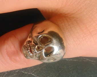 Sterling Silver Scull Ring