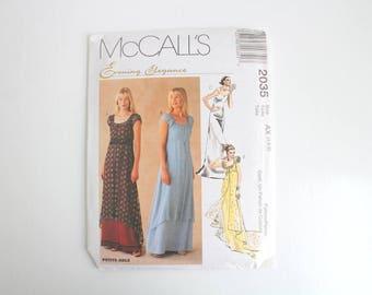 McCall's Dress Pattern, Dress Pattern, Evening Dress Pattern, Sewing Pattern, McCall's, Formal Dress Pattern, Costume Pattern, Prom Dress