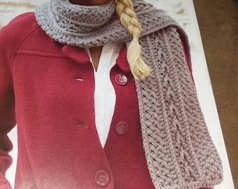Silver heather neck scarf