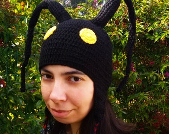 Heartless Shadow Hat Gorro (Kingdom Hearts) - Crochet