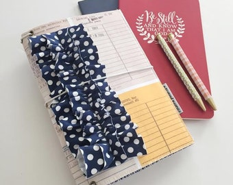 library card MPruffledori  -- fauxdori traveler's notebook