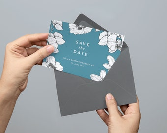 Printable Save the Date card | PDF