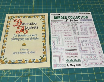 2 CROSS STITCH BOOKS