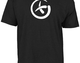 Geocache, geocaching cross t-shirt.