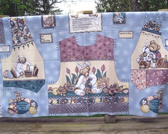 Bears N Hares Fabric by Teresa Kogut to make adult vest.