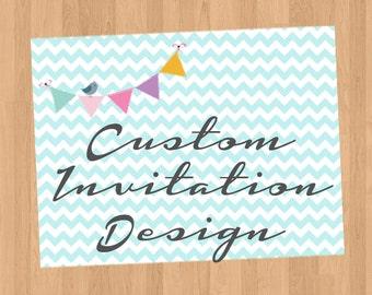 Custom Card or Invitation Design