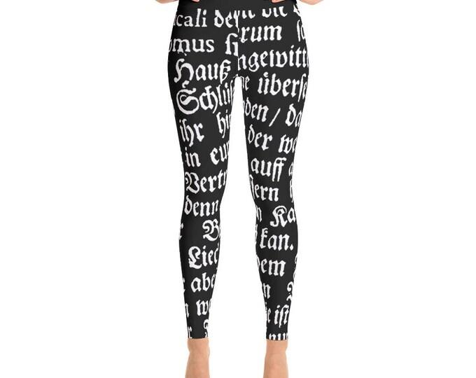 Deutsch- Yoga Pants