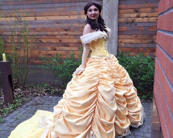 Belle from The Beauty and the Beast cosplay costume