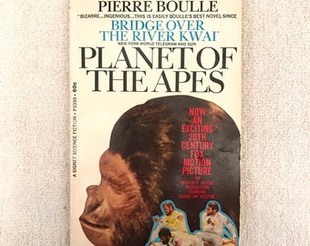 Vintage Planet Of The Apes Book