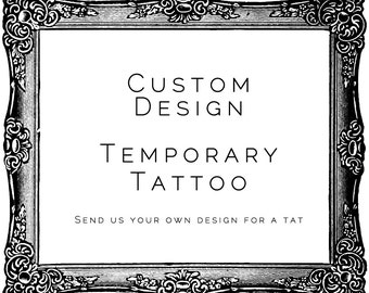 Custom Design Tattoo - SmashTat