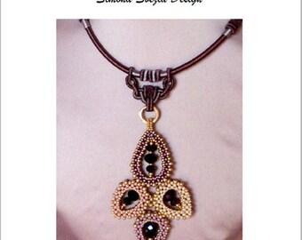 """TUTORIAL """"Summer Elegance"""" pendant and earrings / ciondolo e orecchini"""