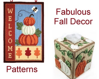 PATTERN: Fabulous Fall Decor in Plastic Canvas