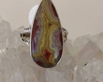Mexican Laguna Lace Agate, Size  9