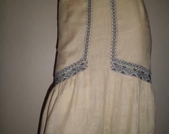 IRO t36 stowed white lightweight silk skirt