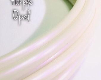 """11/16"""" Purple Opal Color Shifting Polypro Hula Hoop// Dance Hoop// Performance Hoop//Goldilocks"""