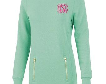Monogrammed Pullover Sweatshirt - Monogrammed Sweatshirt - Monogrammed Pullover - Monogrammed North Hampton Sweatshirt - Monogrammed Gift