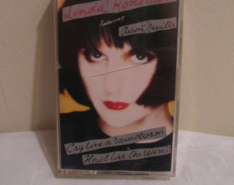 Cry Like a Rainstorm - Howl Like the Wind by Linda Ronstadt (Cassette, Oct-1989,