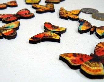 11 Butterfly wood cut outs