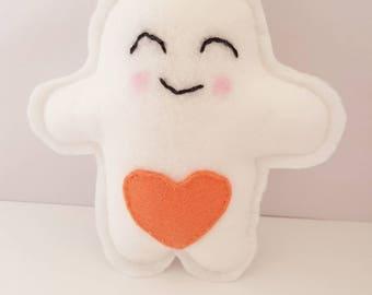 Felt Mini Marshmallow Baby Rattle Toy - Baby Gift, Baby Toys, Nursery Decor!