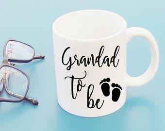 Grandad to be Coffee Cup Mug