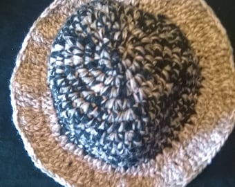 Kids crochet Sun hat