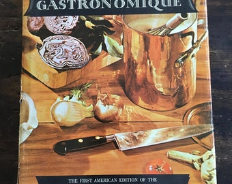 The World Authority Larousse Gastronomique Cookbook / 1965 Encyclopedia of Food, Wine and Cookery / Molecular Gastronomy