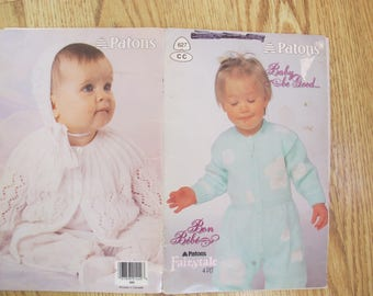 Patons Baby Be Good / Beehive Book no. 627 / Patons Fairytale 4 ply