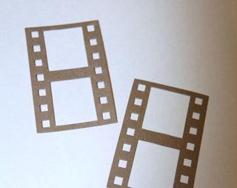 Film Strip Die Cut Chipboard Set of 6