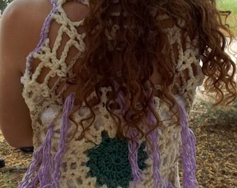 Dream Catcher Pixie Mandala  Waistcoats Vest PATTERNS in 3 Different Versions