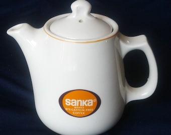 Individual Sanka Coffee Pot