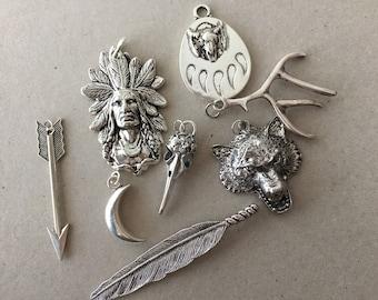 SALE metal pendants part I