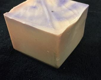 Eucalyptus mint swirl soap