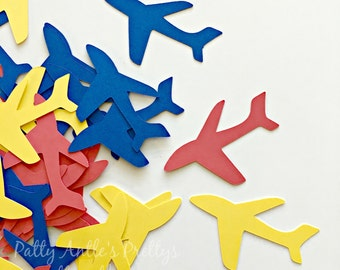 Airplane Die Cuts, Airplane Confetti