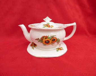 Vintage Alfred Meakin Teapot, Staffordshire Pottery