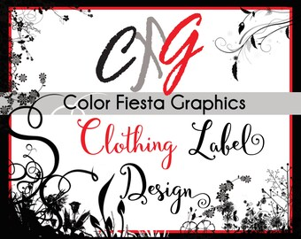 Clothing Label design - plus a round of UNLIMITED edits - Reserved for customcouturelabelco clients