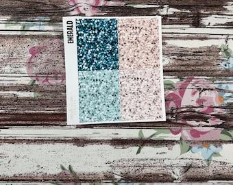 Lost Glitter Headers, planner stickers