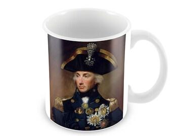 Horatio Nelson  Ceramic Coffee Mug    Free Personalisation