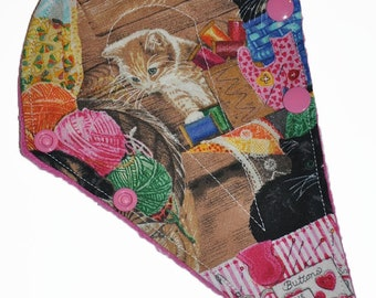 Liner Core- Sewing Kittens Reusable Cloth Thong Liner Pad- 8 Inches