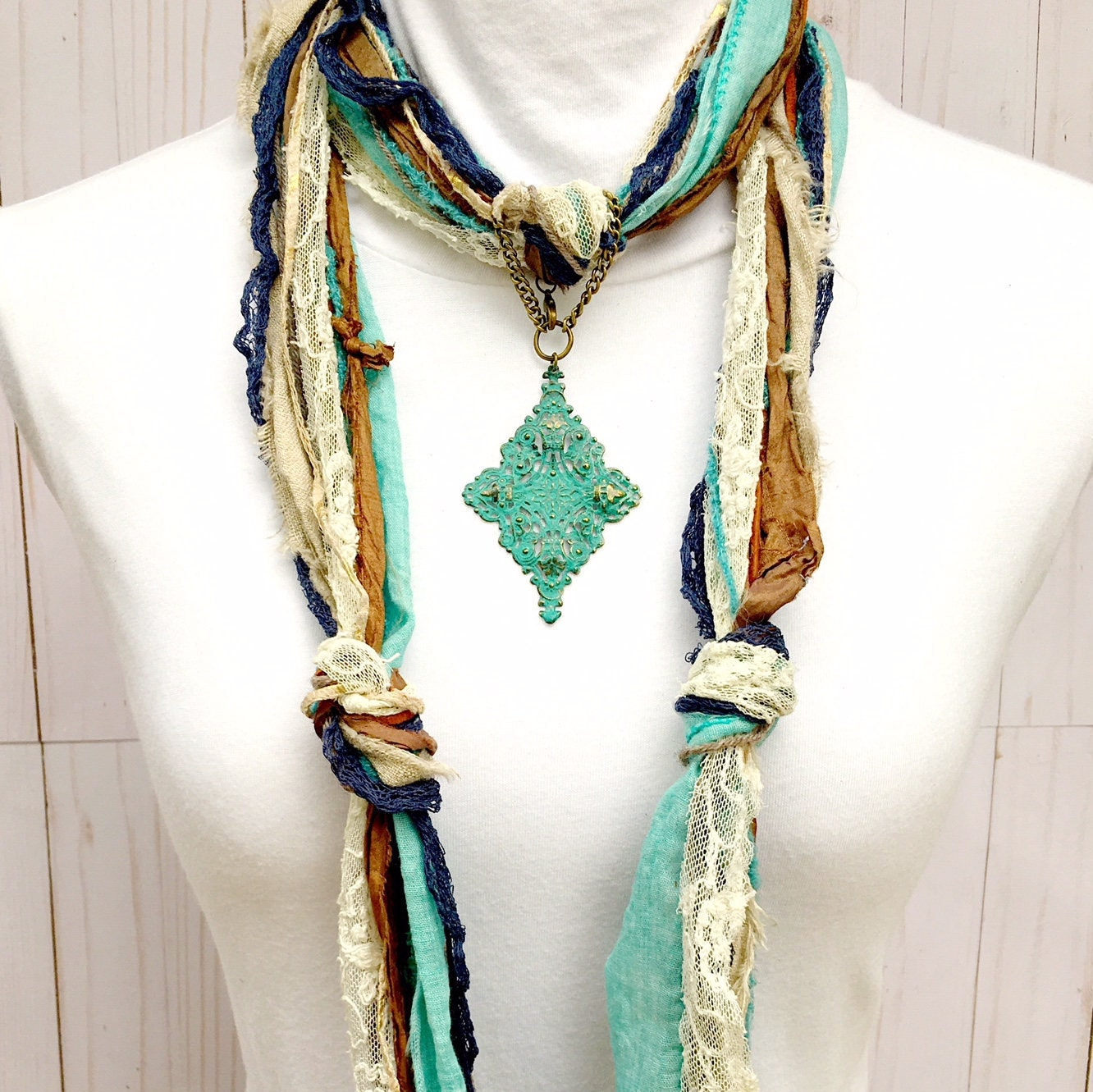 Turquoise scarf jewelry turquoise filigree pendant scarf turquoise scarf jewelry turquoise filigree pendant scarf necklace jewelry metal turquoise scarf pendant scarf ring scarf slide aloadofball Image collections