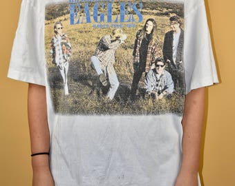 1994 Eagles Hell Freezes Over Tour Shirt Vtg Vintage 90s Don Henley Giant TeeJay