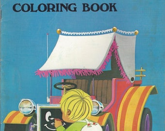 Vintage My First Coloring Book, 1960s
