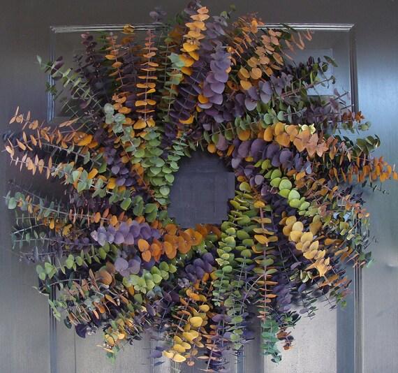 Spring Wreath- Dried Floral Wreath- Wall Decor- Natural Fragrance- Home Decor