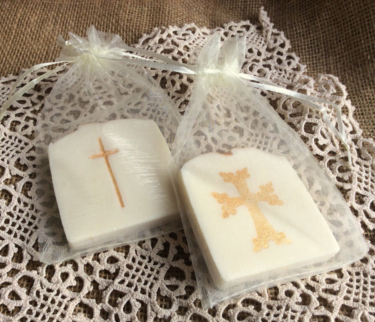 30 Baptism Soap Favors Communion Favor SoapBridal Shower