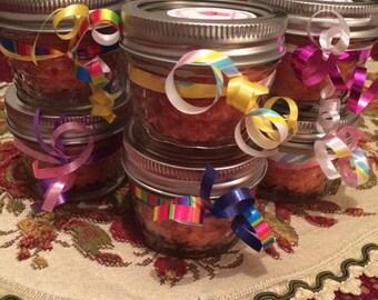 8 (4oz) cupcake jars