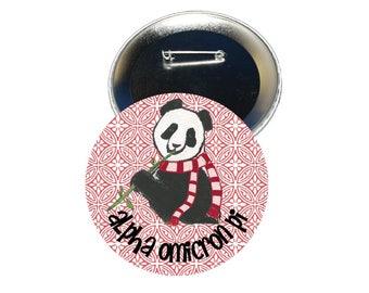 Alpha Omicron Pi Button - Logo