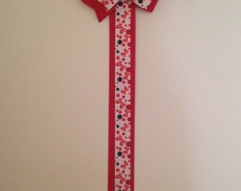 Ribbon Bow Holder, Hair Bow Holder, Bow Organizer, Create your Own Ribbon Bow Holder, You Pick the Colors