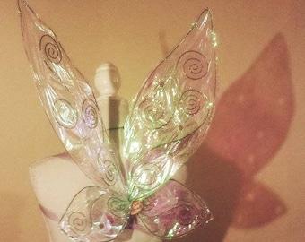 Swirly Tinkerbell Wings