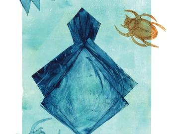 Ethereal Art postcard